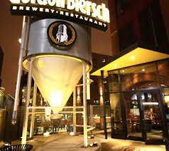 Gordon Biersch Brewery in the Arena District